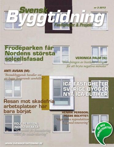 Svensk Byggtidning 3 13 by Stordåhd Kommunikation AB - issuu 262bc6f4fe703
