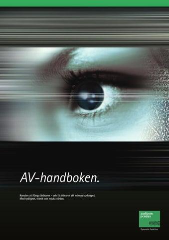 AV-handboken 2014 by AudicomPendax AB - issuu a3ee6df7b6aaf