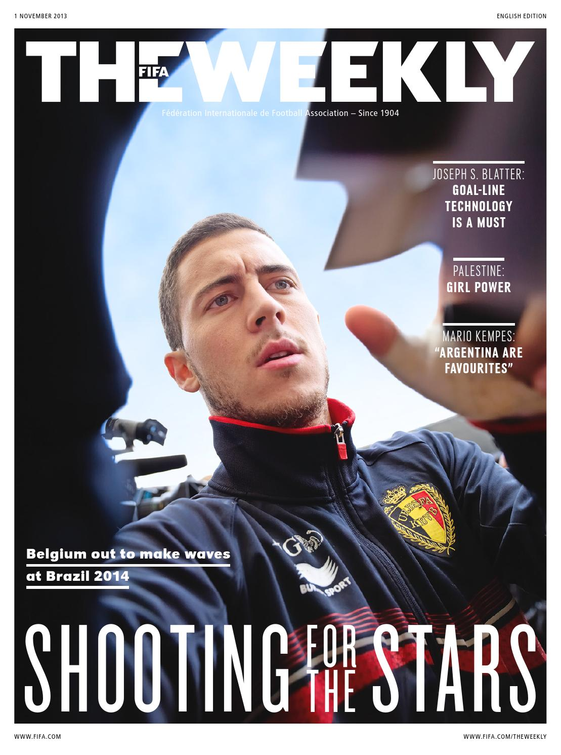 the fifa weekly issue 2 by f233d233ration internationale de
