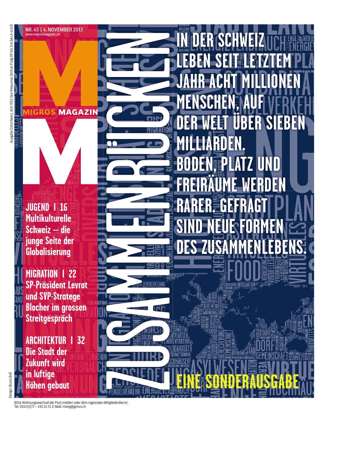 Migros magazin 45 2013 d os by Migros-Genossenschafts-Bund - issuu