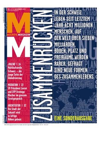 Migros magazin 45 2013 d vs by Migros-Genossenschafts-Bund - issuu