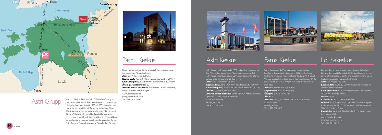 fee72d2d22c Pärnu Keskus laieneb by Jevgeni Pärg - issuu