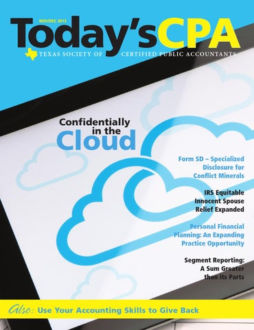 Todays cpa novdec 2013 by the warren group issuu todayscpa novdec 2013 fandeluxe Choice Image