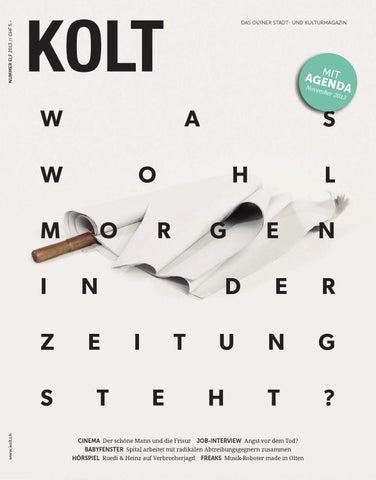 KOLT #46 by kolt kultur // agenda // olten - issuu