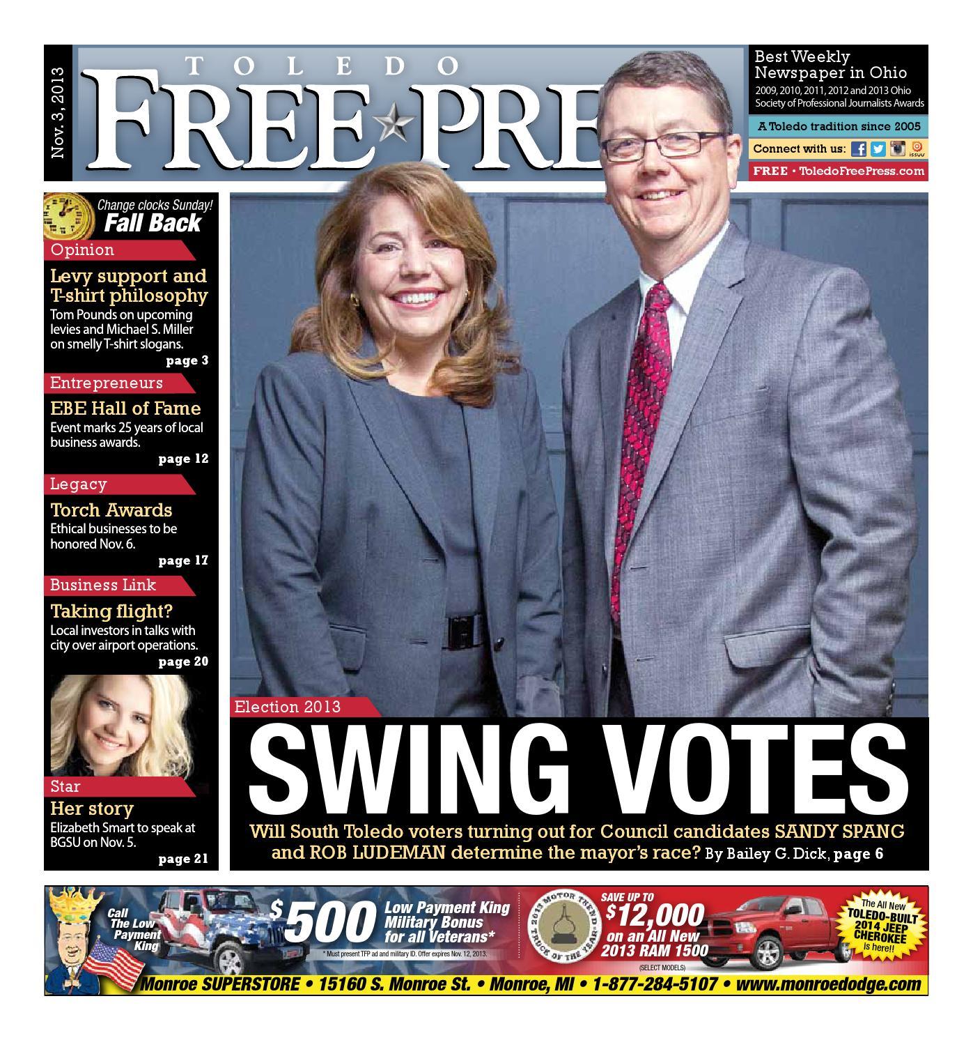 Toledo Free Press Nov 3 2013 By Toledo Free Press Issuu