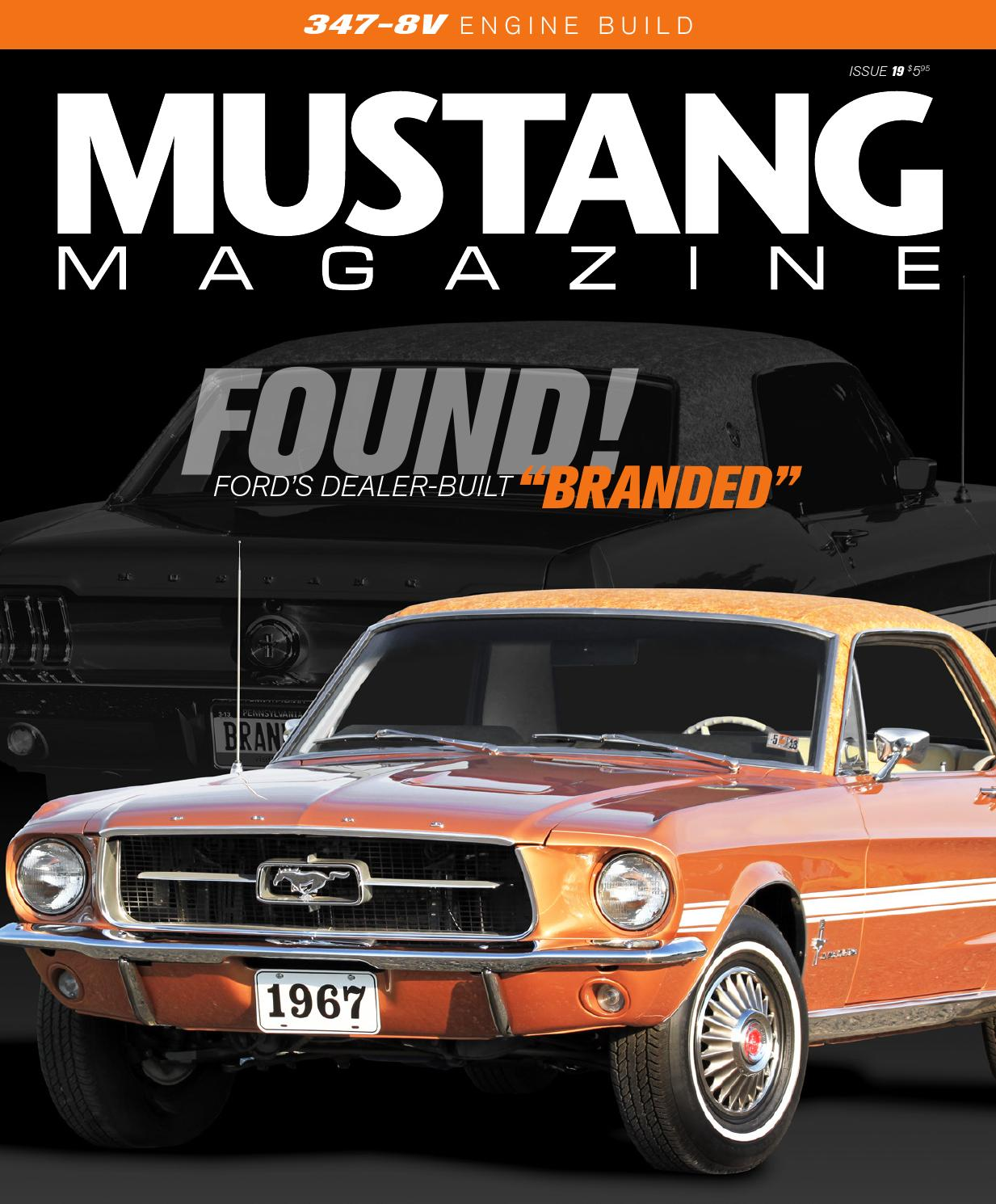 How To Fix Ac In Car >> Mustang Magazine | Issue 19 by Mustang Magazine - Issuu
