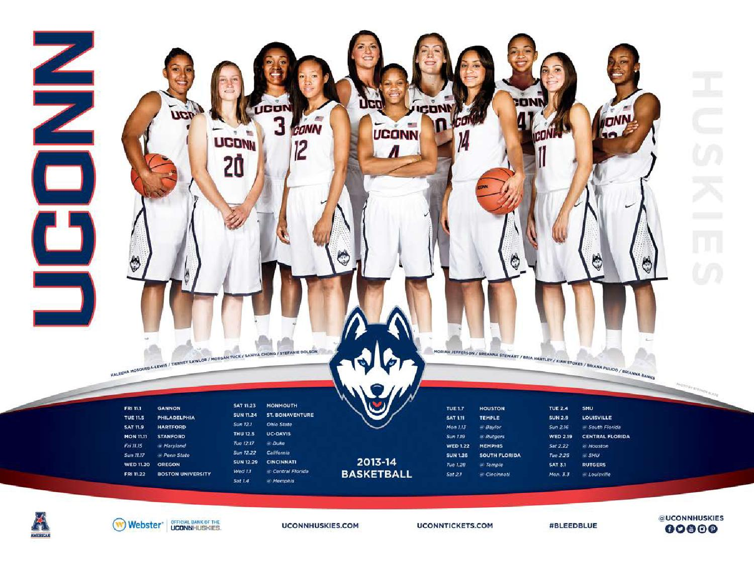2013-14 UConn Women's Basketball Media Guide by UConn Divison of Athletics - Issuu