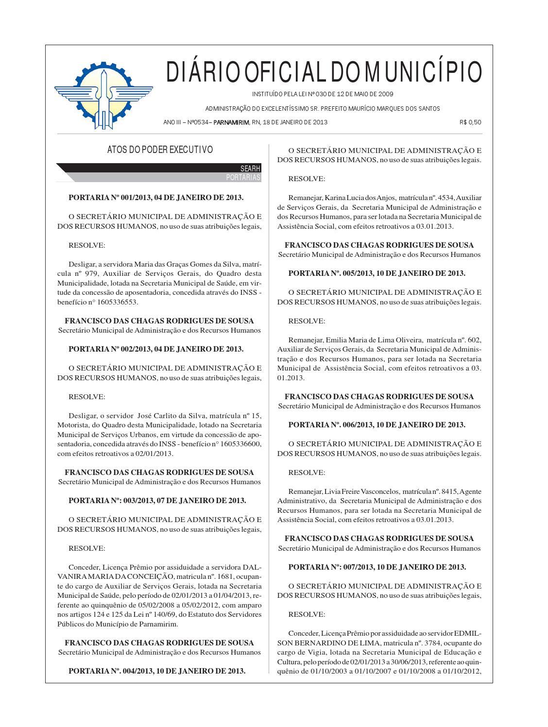 33eac0ac5a 18 jan 2013 by Prefeitura de Parnamirim - issuu