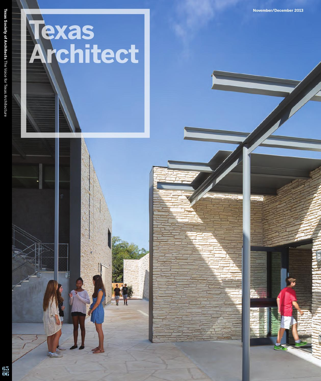 Texas Architect Novemberdecember 2013 Campus Architecture