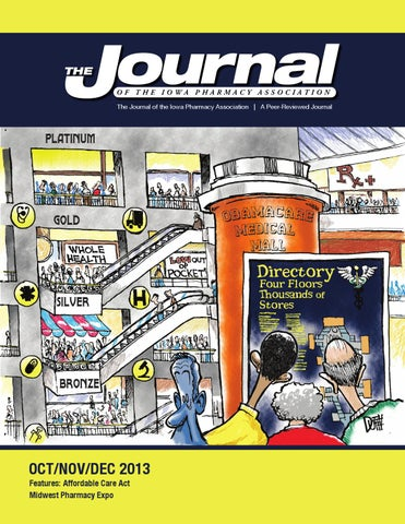 Ipa Journal Octnovdec By Iowa Pharmacy Association Issuu