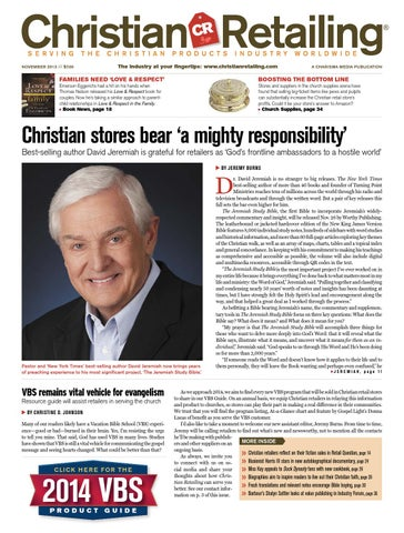 Christian retailing november 2013 by charisma media issuu page 1 fandeluxe Image collections
