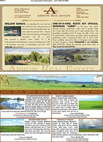Montana Land Winter 2013 14 By Billings Gazette Issuu
