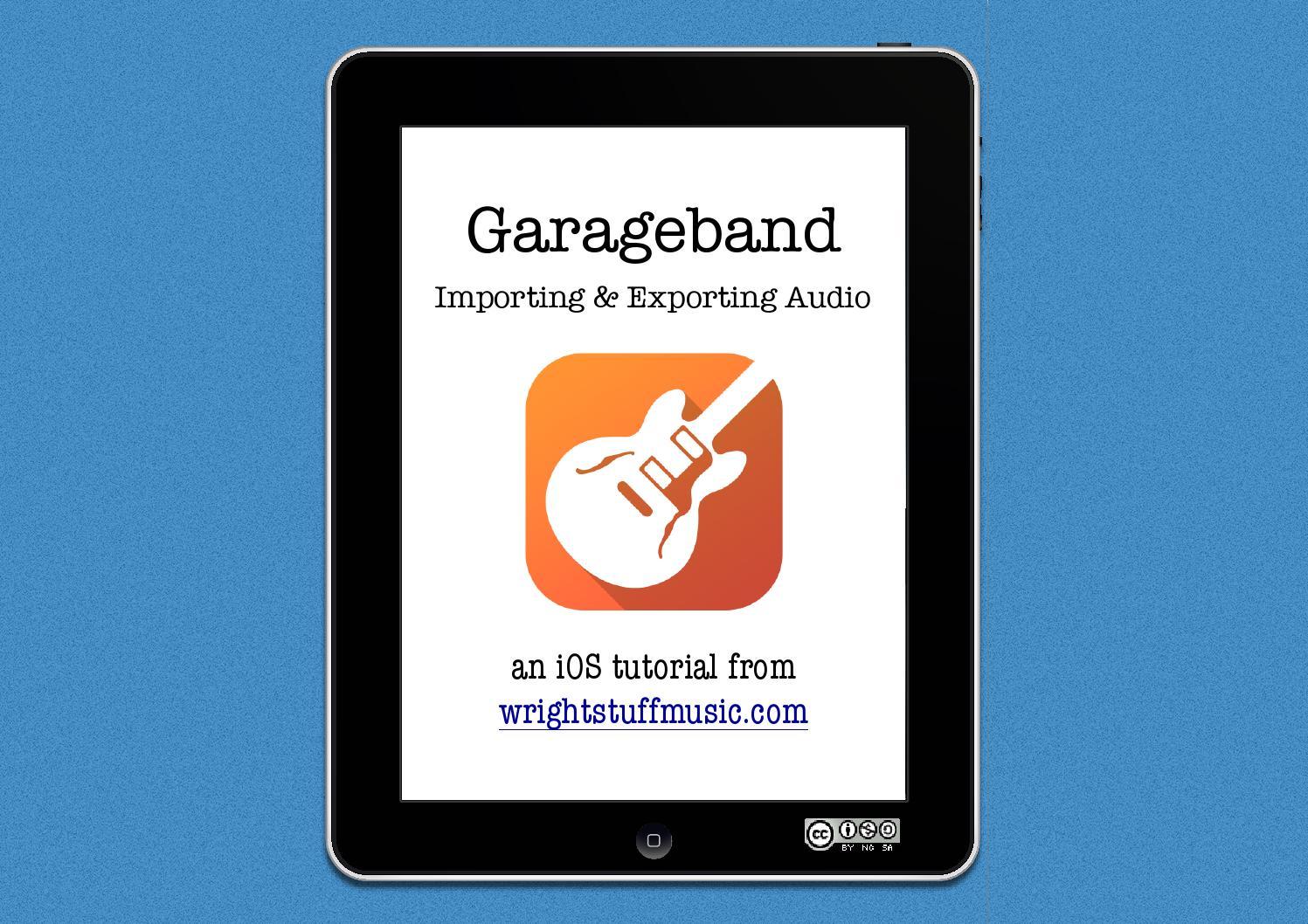 Audio to from garageband by samuel wright issuu baditri Images