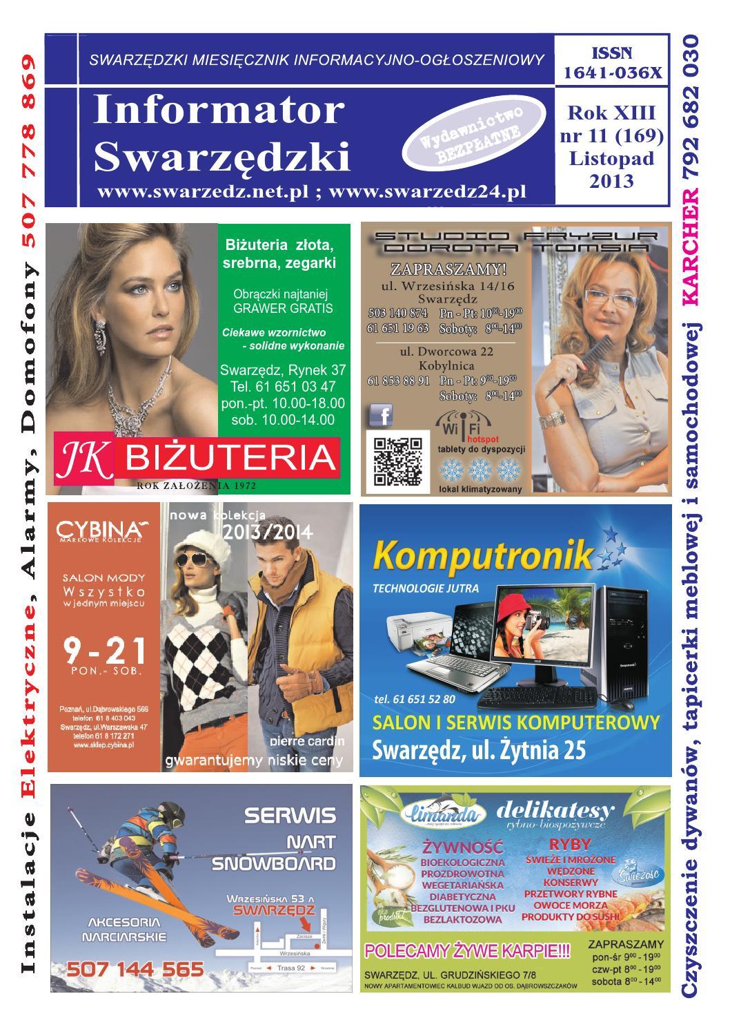 Informator Swarzedzki 2013 Listopad By Piotr Chorynski Issuu