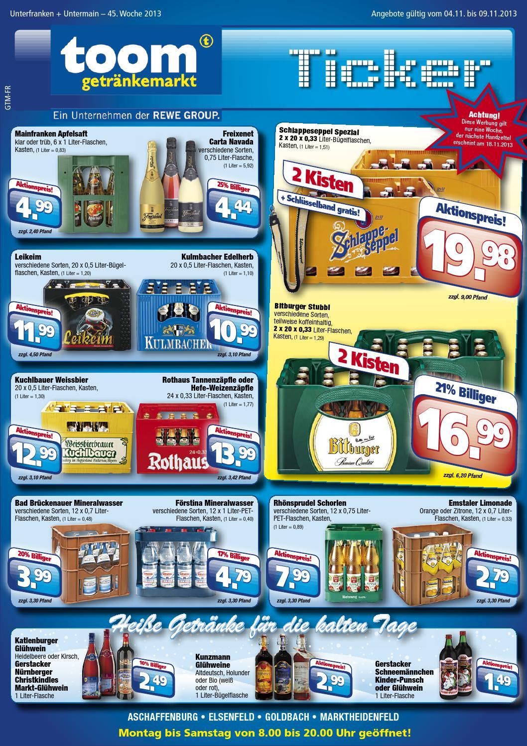 Toom Getränkemarkt Katalog gültig bis 09/11 by broshuri - issuu