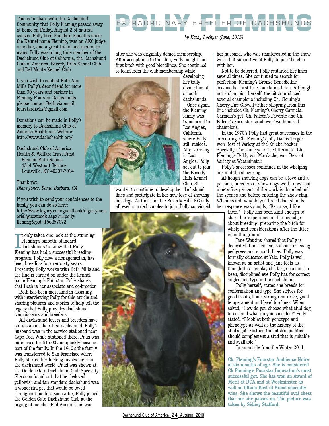 DCA Newsletter Autumn 2013 by Lynne Dahlen - issuu