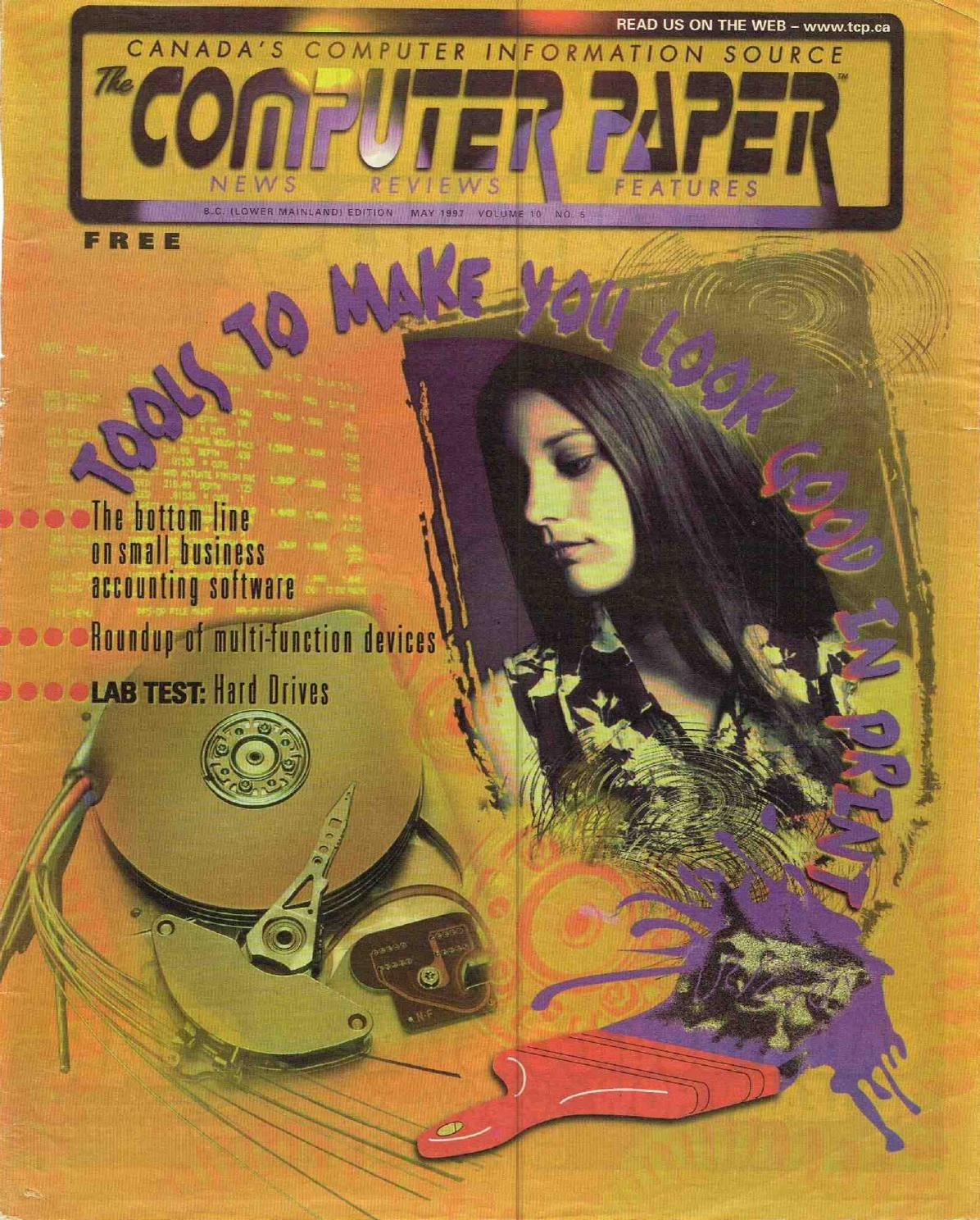1997 05 The Computer Paper Bc Edition By Issuu Fan Intel Soket 478 Ori Tebal