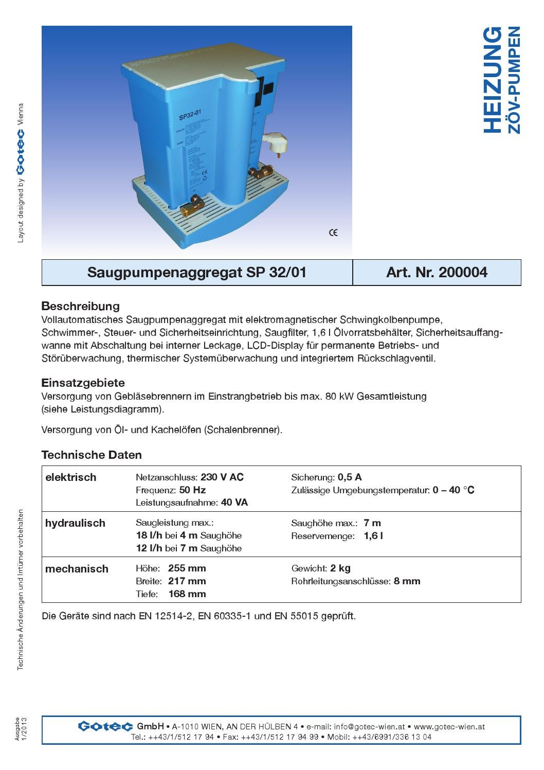 Saugpumpen by gotec-wien - issuu