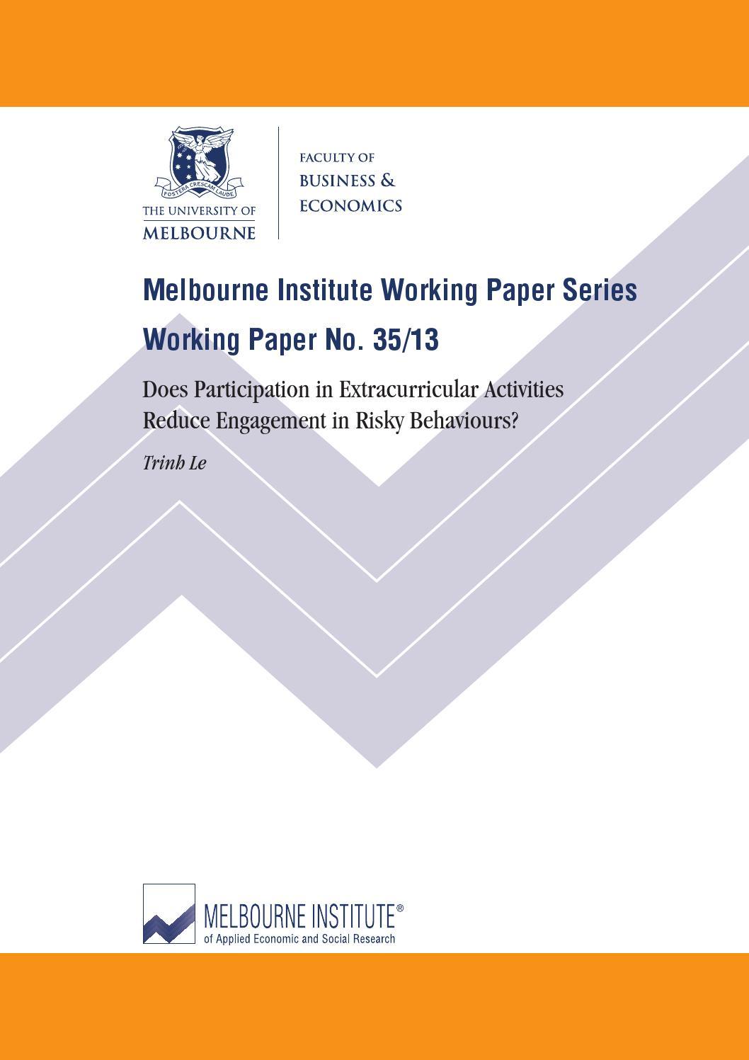 australian institute research paper no. 41 Australia's welfare 2017 australia's welfare 2017 is the 13th biennial welfare report of the australian institute  ancd research paper no 18 canberra .