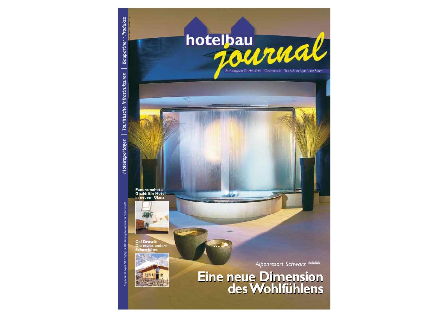 Hotelbau journal 06 de by Michaeler & Partner - issuu
