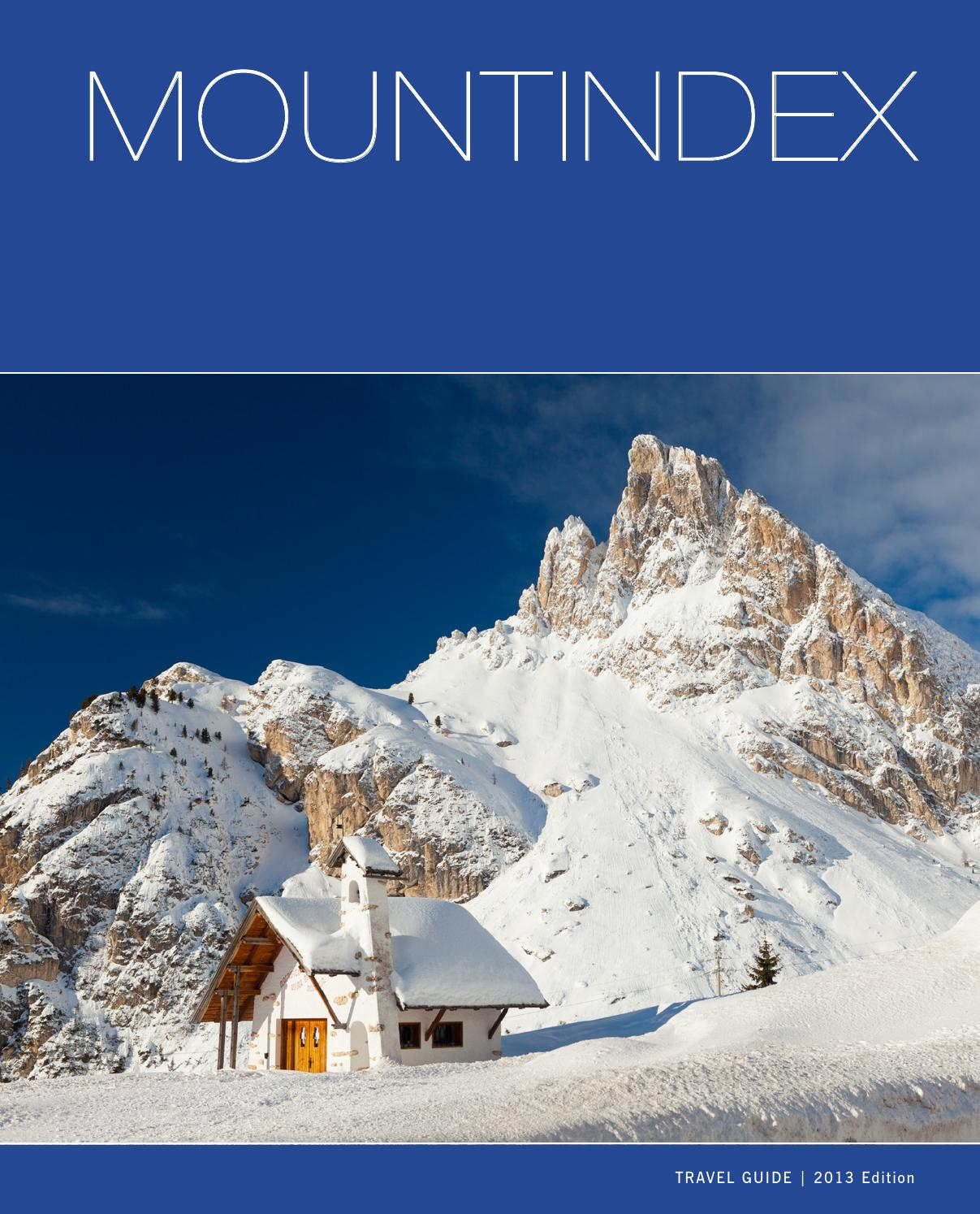 Italian Mountindex Visititaly By Grafica Promax Issuu