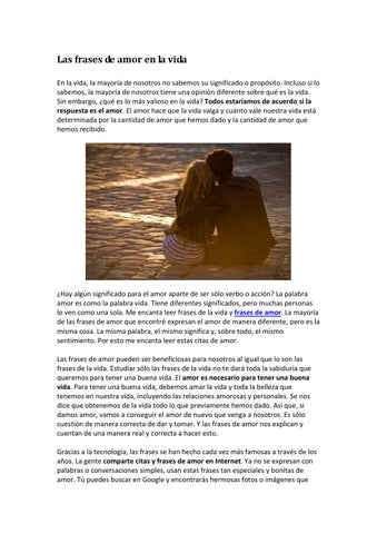 Frases De Amor By Susana Issuu