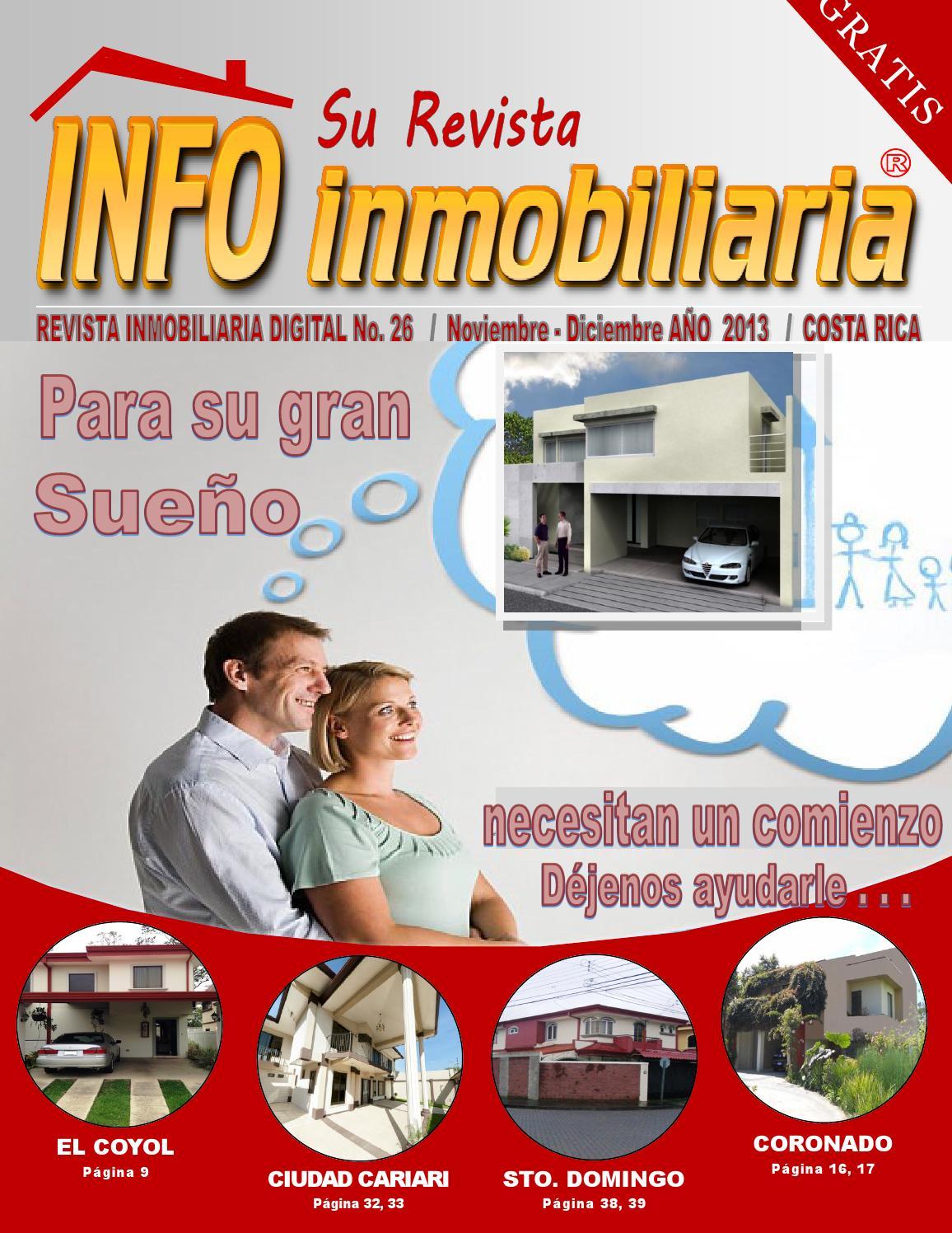 arte info inmobiliaria 26 pdf by adecorsa inmobiliaria
