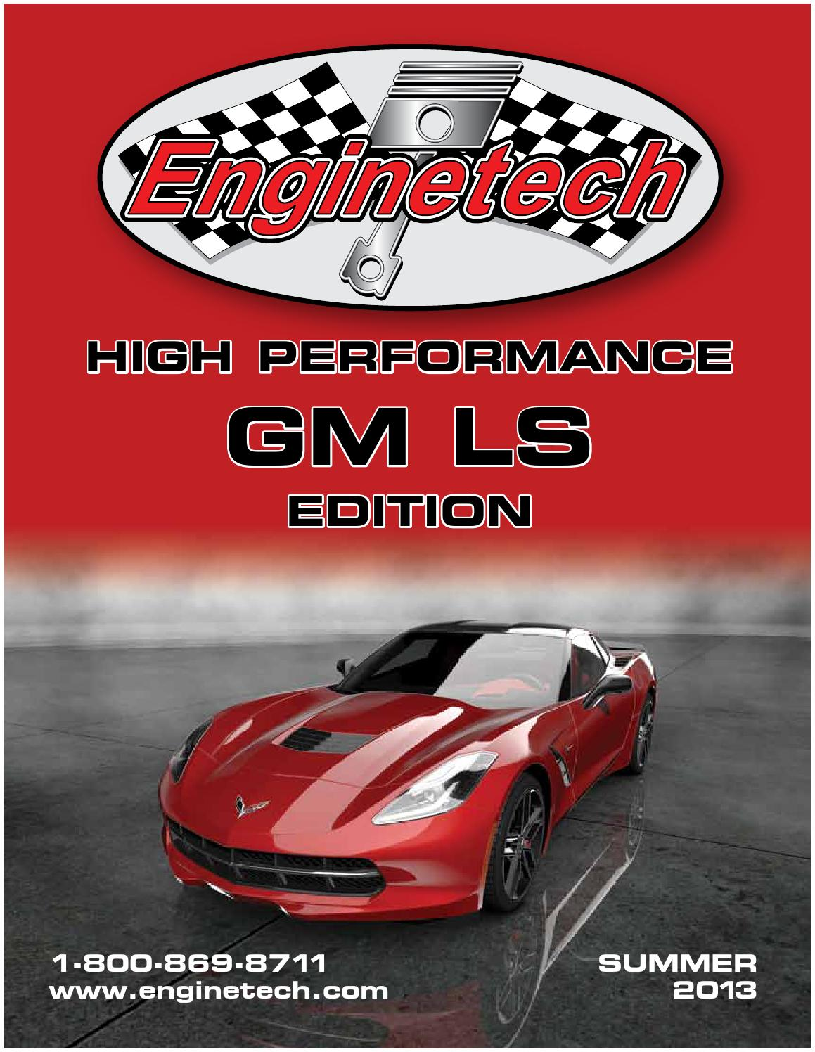 Enginetech High Performance Catalog / GM LS by Rich Graham
