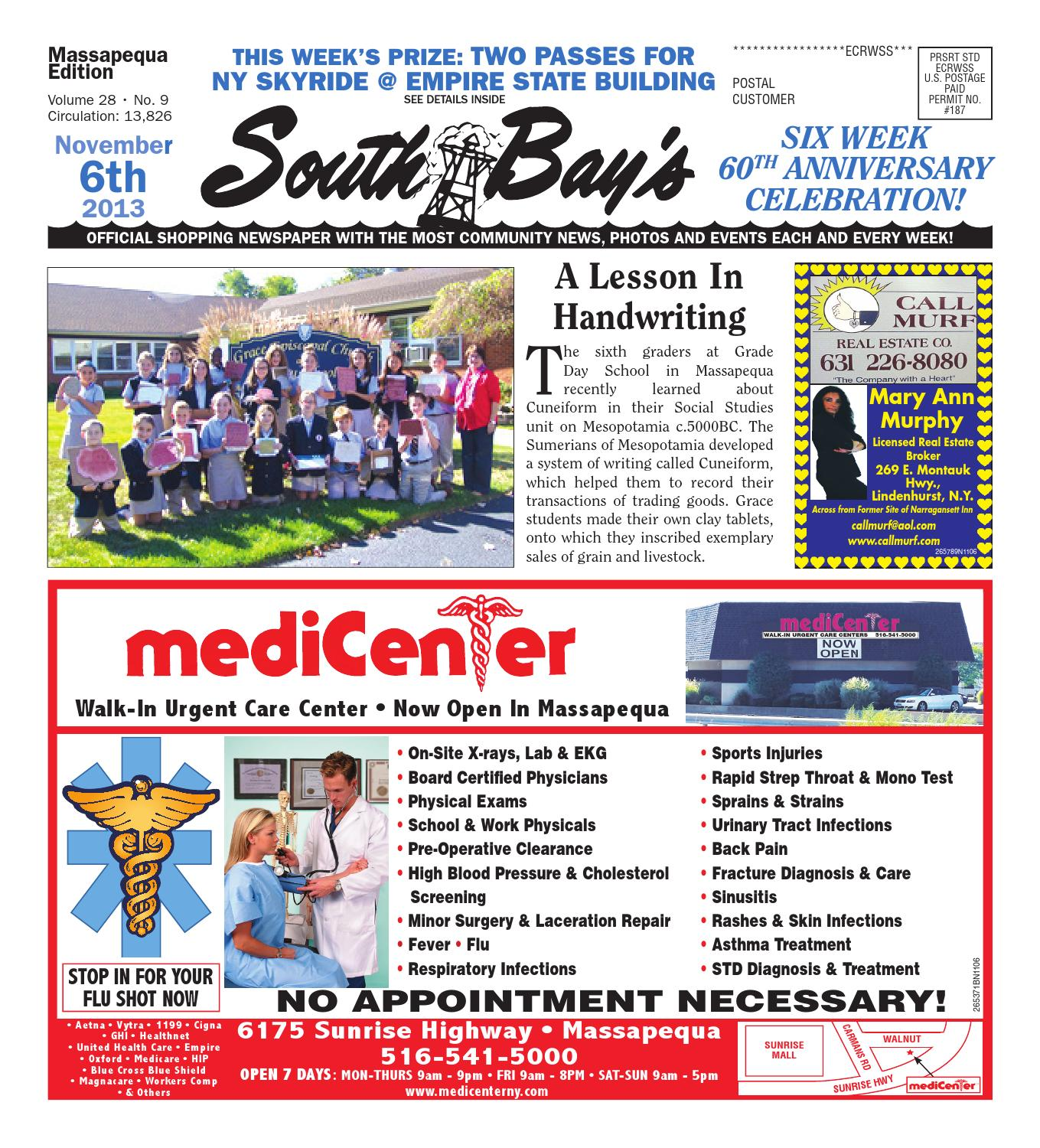 November 6, 2013 Massapequa by South Bay s Neighbor Newspapers - issuu 64475bbdcb