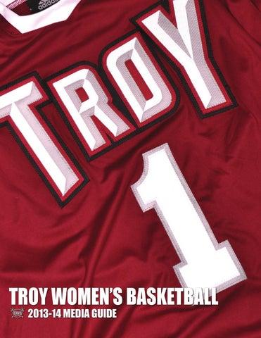 1a52ba542 2013-14 Troy Women s Basketball Media Guide by Troy University ...