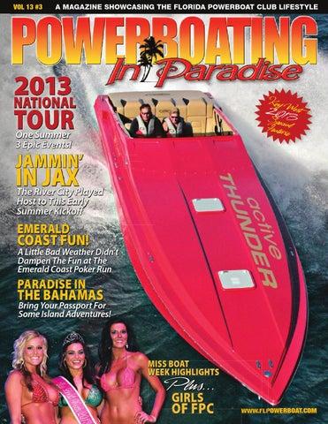 Powerboating In Paradise Vol 13 3 By STU JONES
