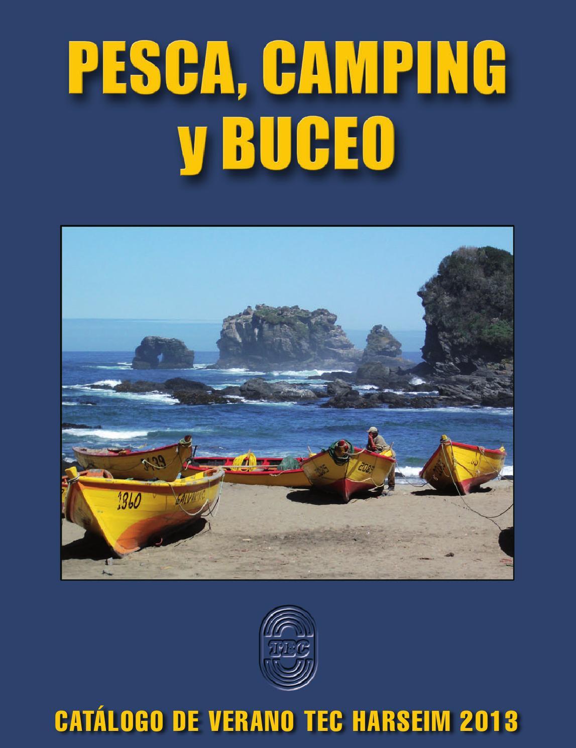 Pesca, Camping y Buceo - Catálogo 2013 by TEC Harseim Ltda. - - issuu