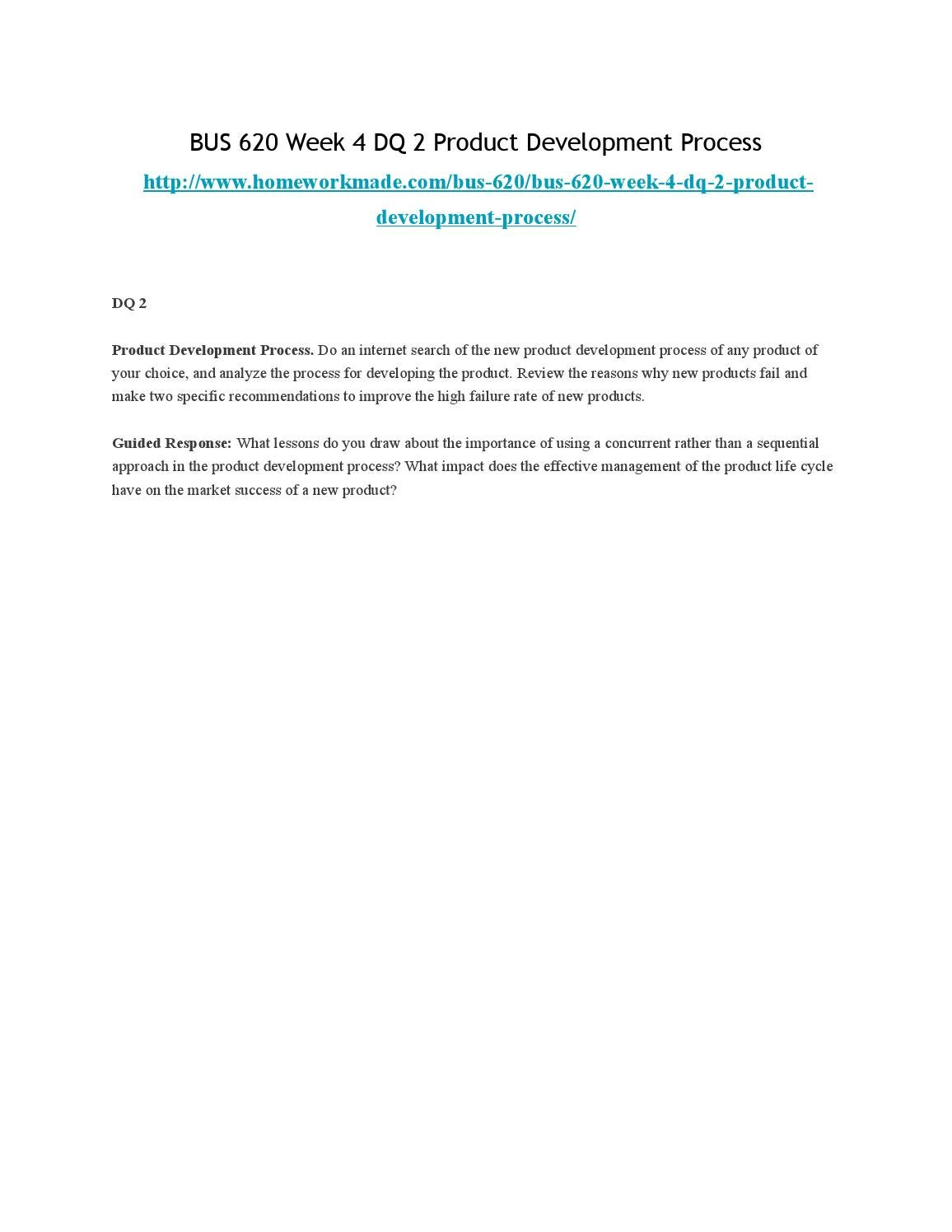 causes of new product failure pdf