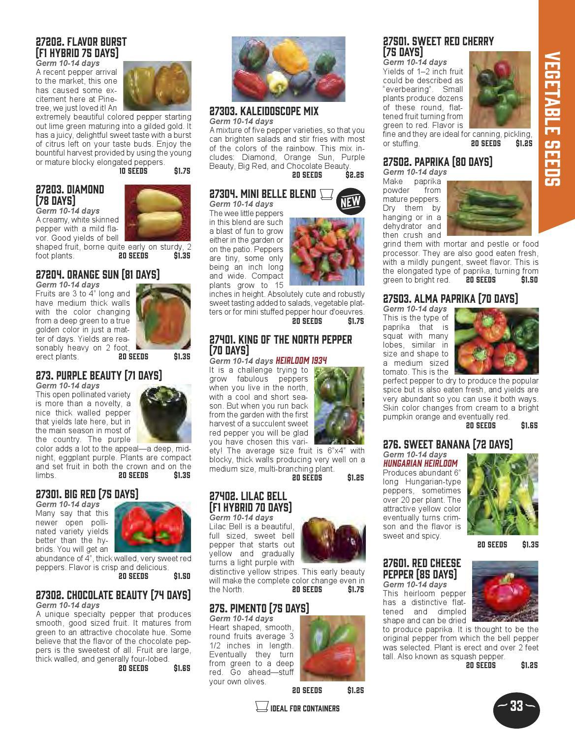 Pinetree Garden Seeds 2014 Catalog
