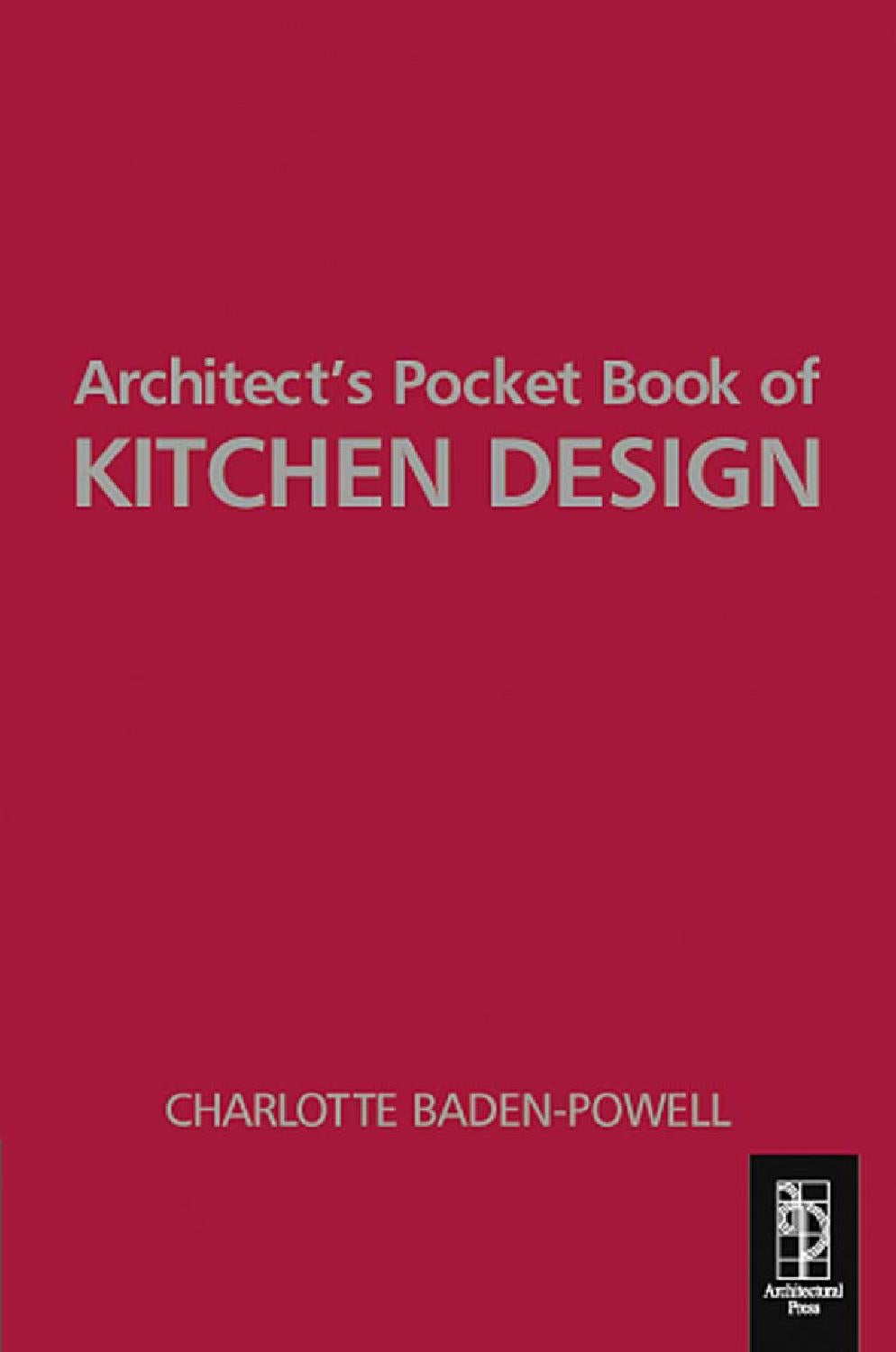 architecture ebook] architect's pocket book of kitchen design by ...