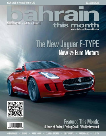 a2e35832937 Bahrain This Month - November 2013 by Red House Marketing - issuu