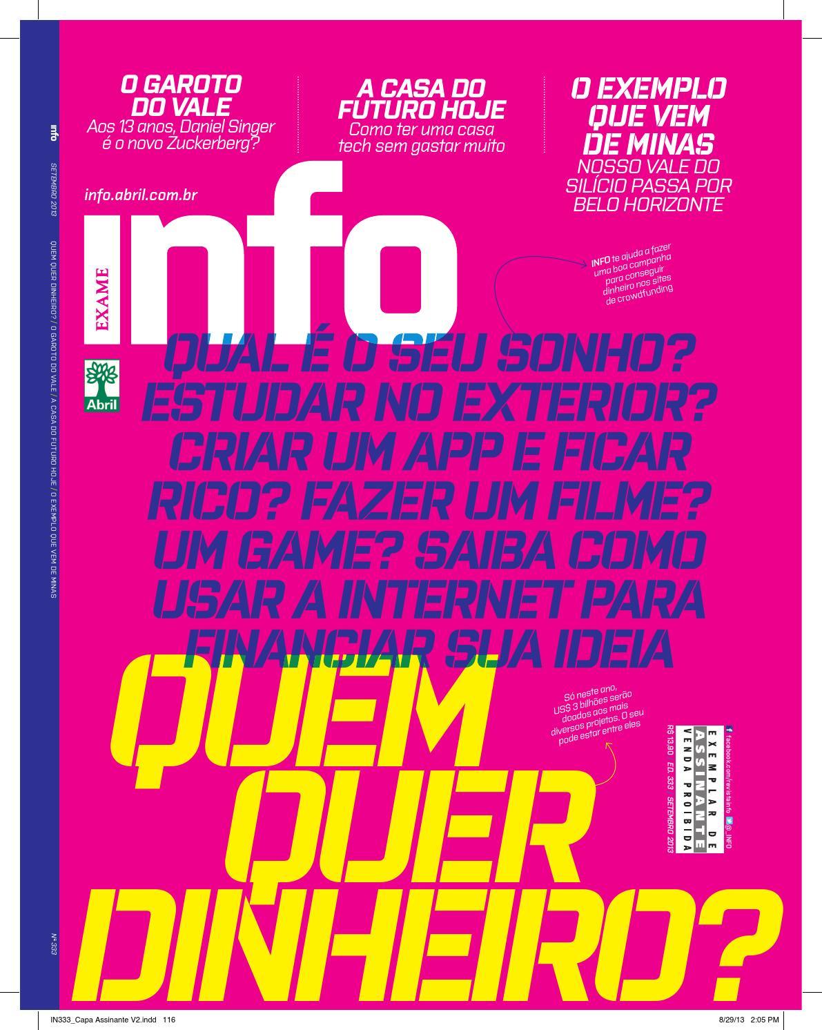 f5d2929bf4 SET - 333 by Revista INFO - issuu