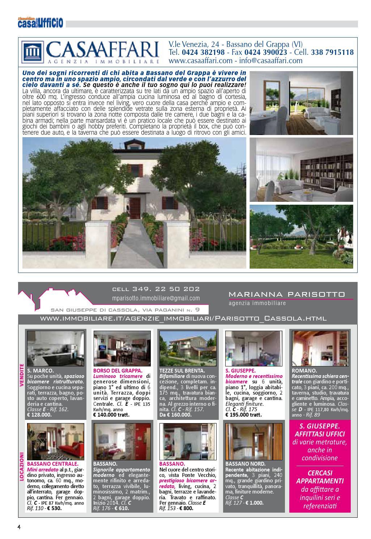 Agenzie Immobiliari Bassano casa&ufficio novembre 2013 by casa e ufficio - issuu