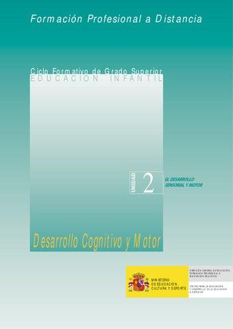 2 desarrollo sensorial y motor by CARMEN GARCIA - issuu