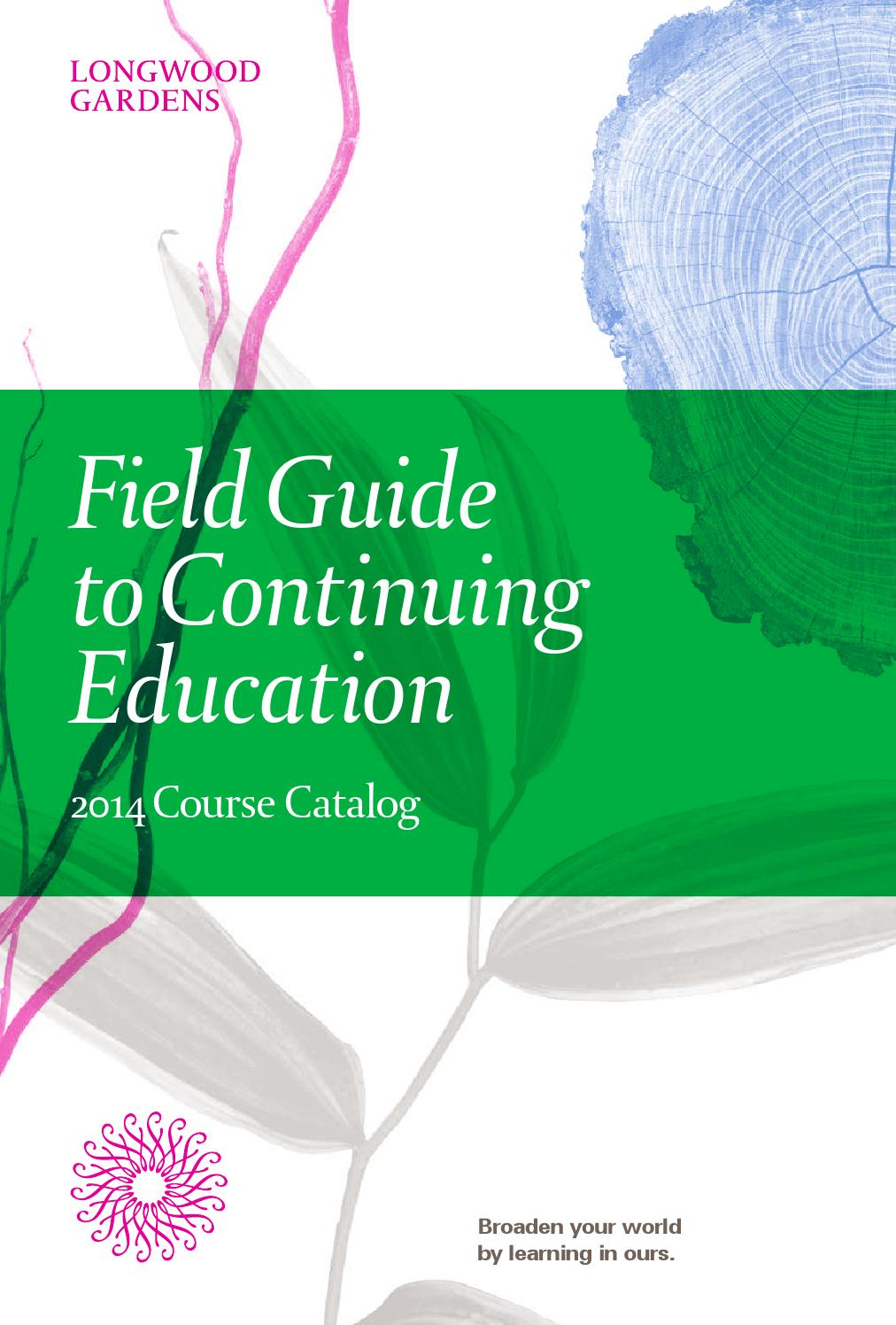 Field Guide To Continuing Education: 2014 Course Catalog ...