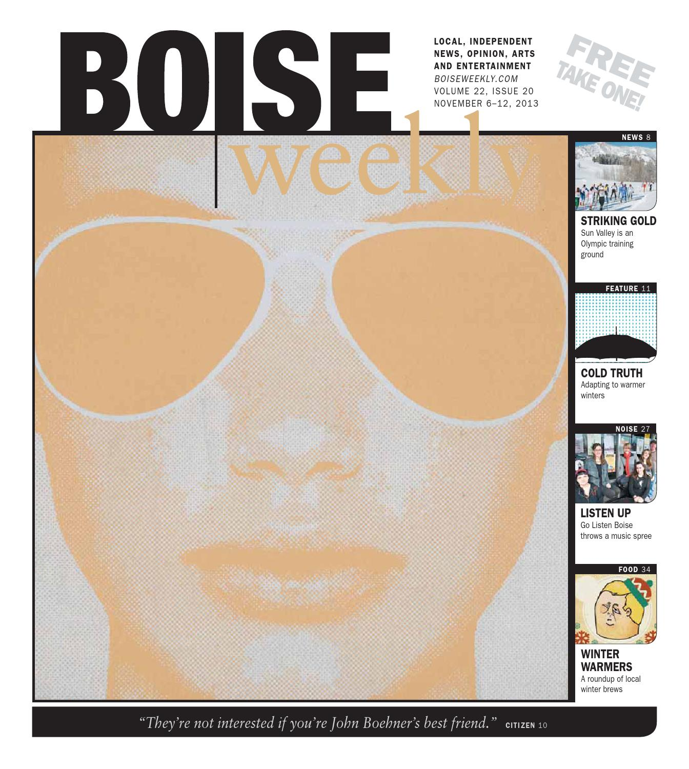Boise Weekly Volume 22 Issue 20 By