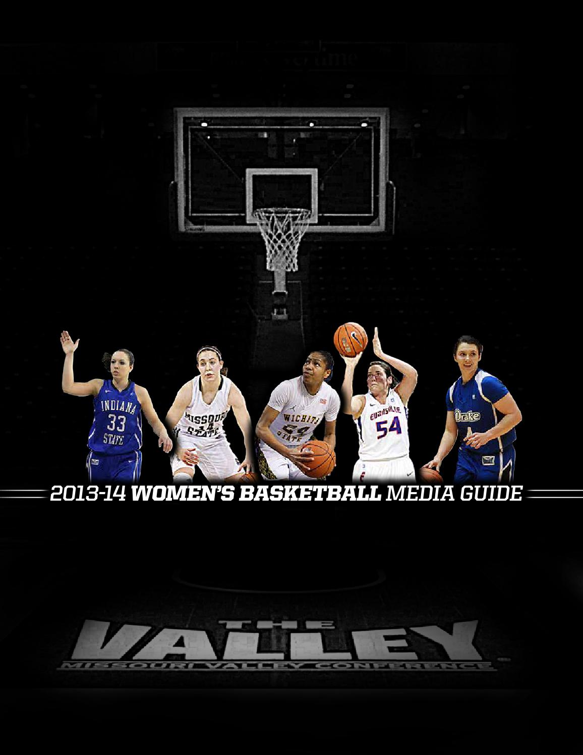 2013 14 Missouri Valley Conference Women S Basketball Media Guide