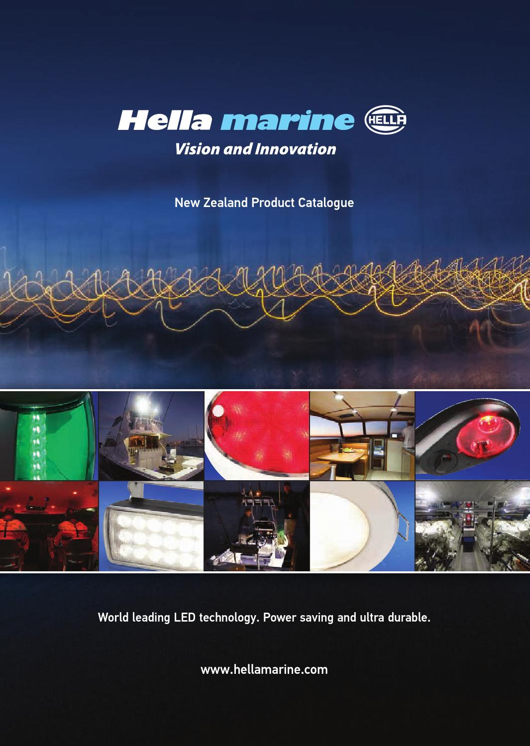 Hella Marine Catalogue New Zealand By Issuu 3 Pin Plug Wiring Colours Nz