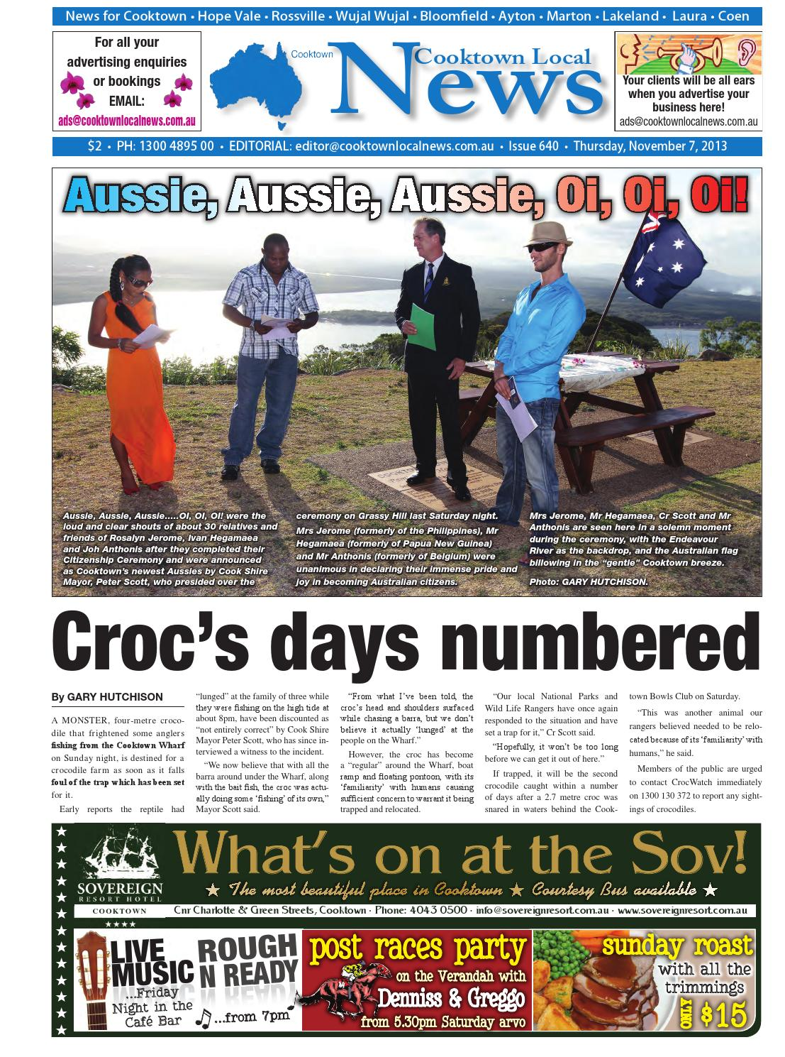 13 11 07 Cooktown By Regional And Remote Newspapers Issuu
