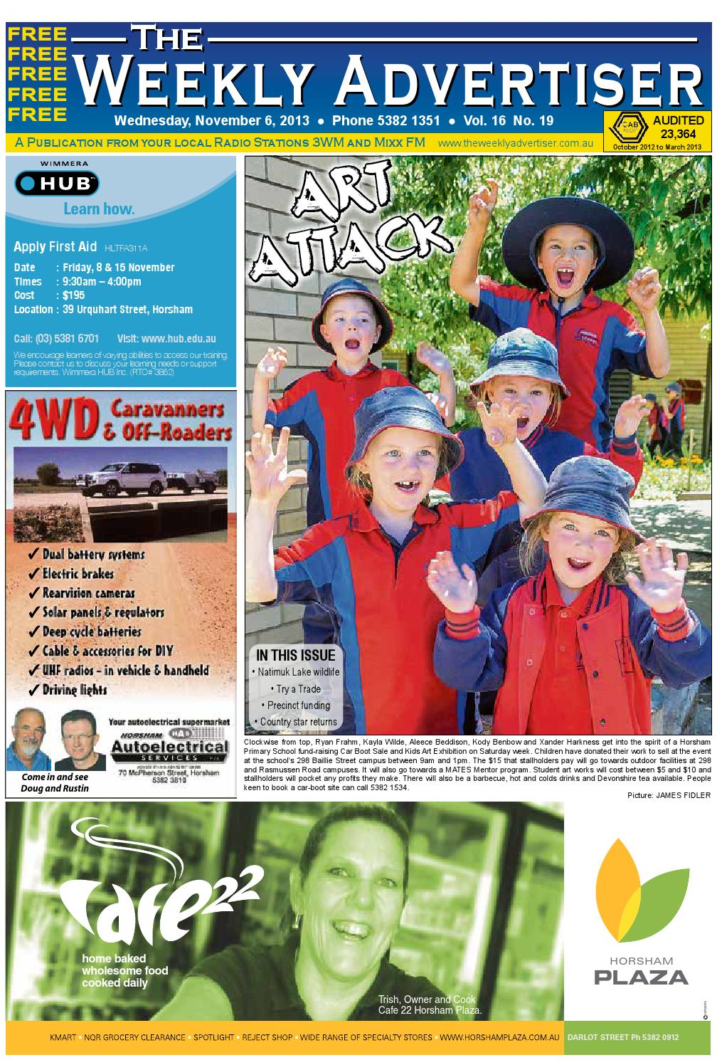The Weekly Advertiser Wednesday November 6 2013 By Froot Loops 300g Free Foot Ball Bowl P Issuu