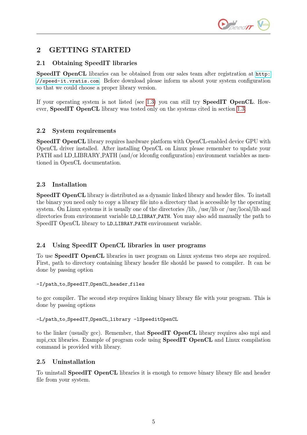 SpeedIT 2 4 (OpenCL backend) by Vratis Ltd  - issuu