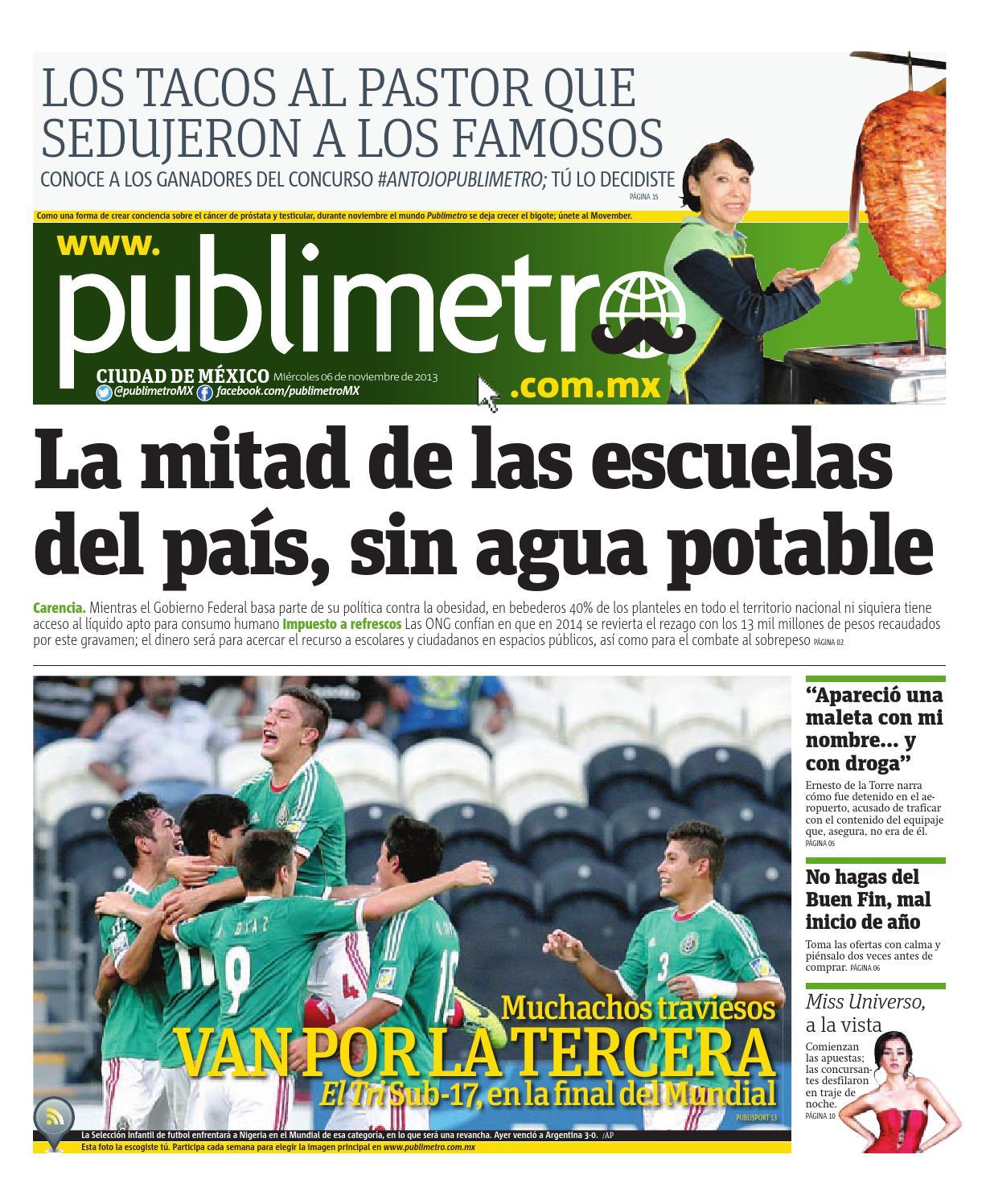 99ac31c61 20131106_mx_publimetro by Publimetro Mexico - issuu