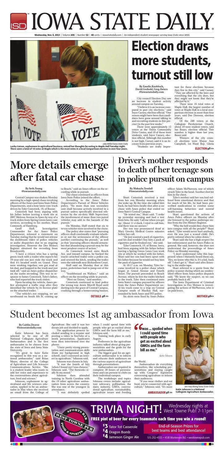 11 06 13 by Iowa State Daily - issuu