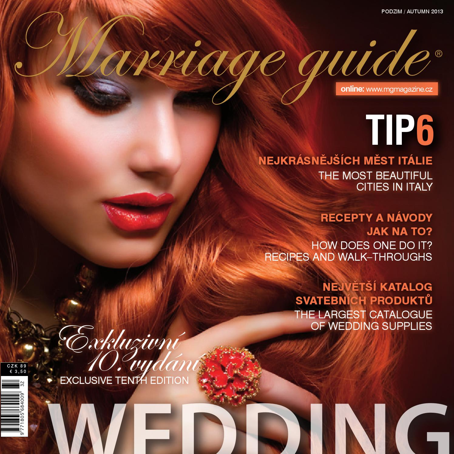 Marriage guide autumn 2013 gold edition by Kollman Partners s.r.o. - issuu 38cdcd2e86