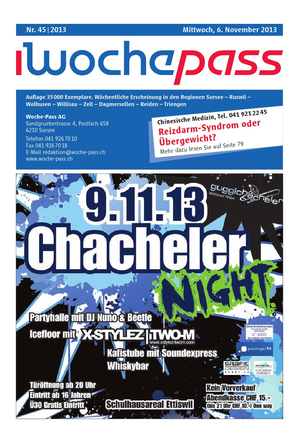 Woche-Pass | KW45 | 6. November 2013 by Woche-Pass AG - issuu